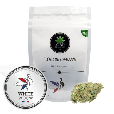 White Widow Consommables CBD France