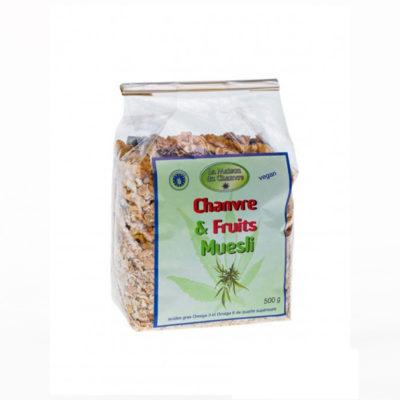 muesli-au-chanvre-et-fruits-500g-bio alimentaire le cbd france