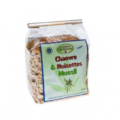 muesli-chanvre-et-noisettes-500g alimentaire le cbd france