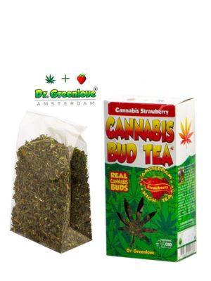 Thé au cannabis goût fraise alimentaire le cbd france