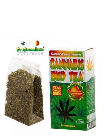 Thé au cannabis goût mangue