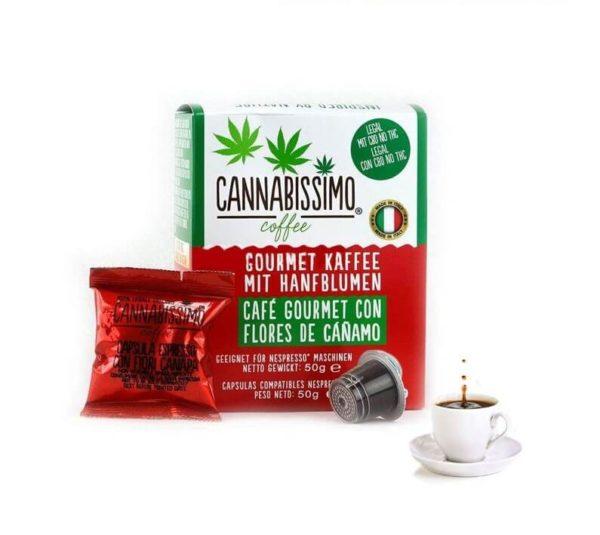 Cannabissimo coffee capsules alimentaire le cbd france