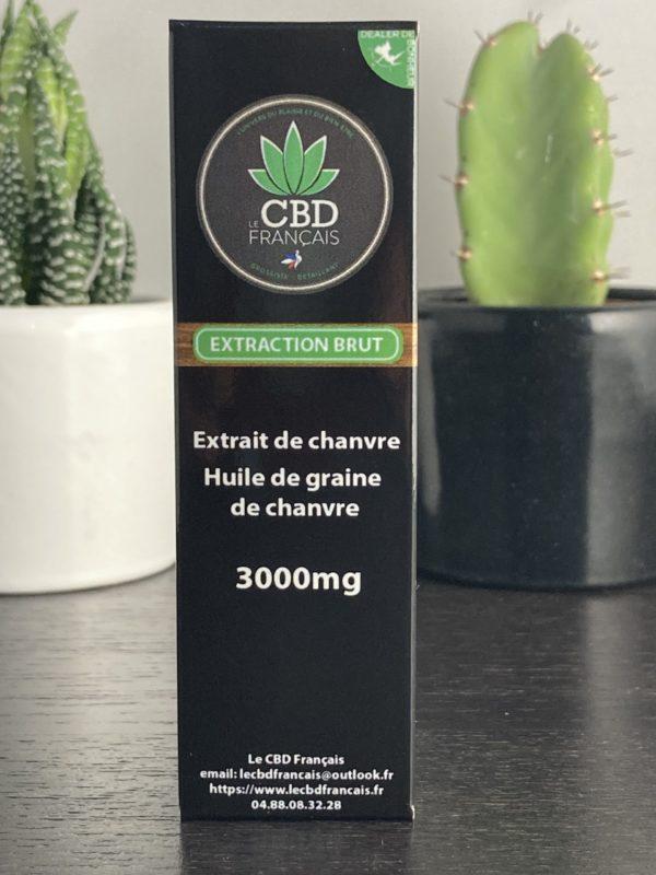 Huile CBD 30% parapharmaceutique le cbd france