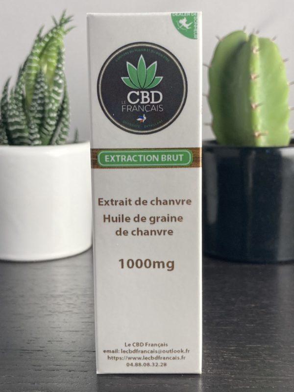 Huile de CBD 10% parapharmaceutique le cbd france