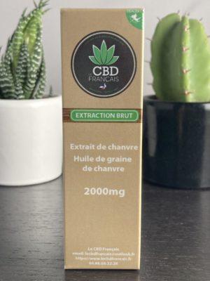 Huile CBD 20% parapharmaceutique le cbd france
