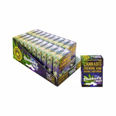 Chewing-Gum à base de CBD - Goût fruit des bois alimentaire le cbd france