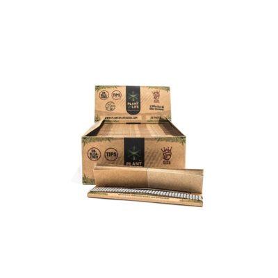 Feuilles slim non blanchi + cartons accessoires le cbd france