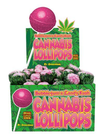 Sucette Cannabis Kandy Kush X Bubble gum