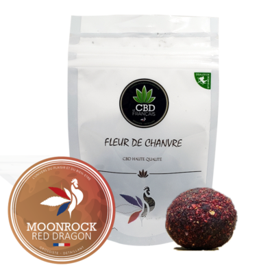Moonrock Red Dragon Consommables CBD France