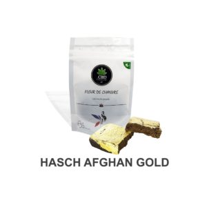Afghan gold - Résine CBD 10% résine le cbd france