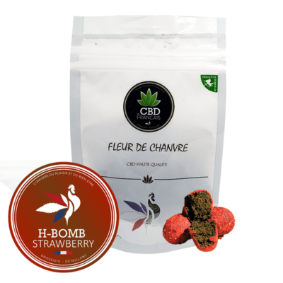 H-BOMB-Strawberry- Consommables CBD France