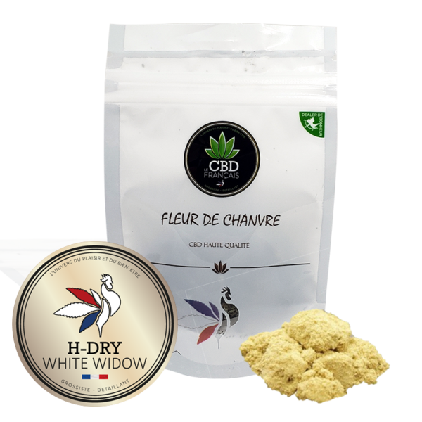 H Dry White widow Consommables CBD France