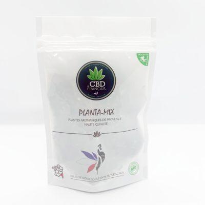 Plantamix - Sauge gingembre fleurs le cbd france