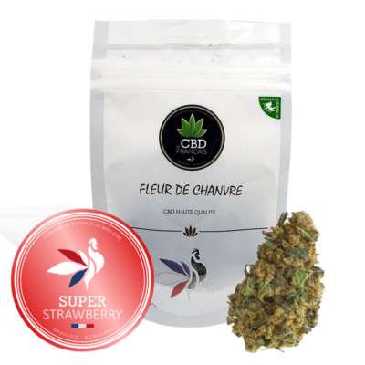 SUPER STRAWBERRY Consommables CBD France